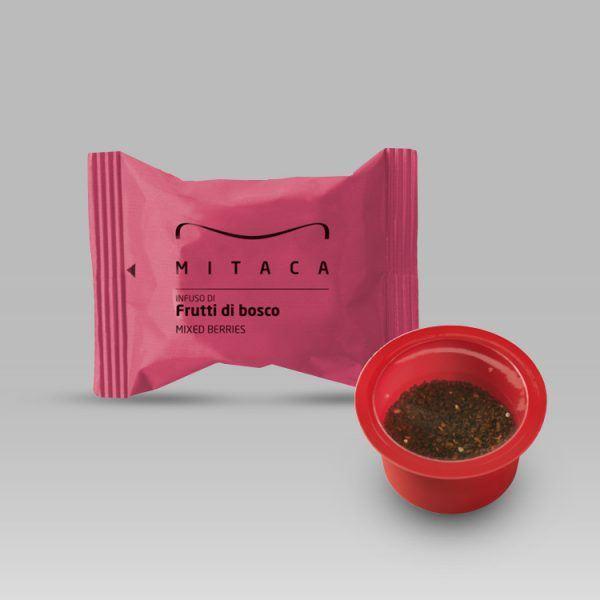 Mitaca ceai de fructe de padure cuti 45 buc