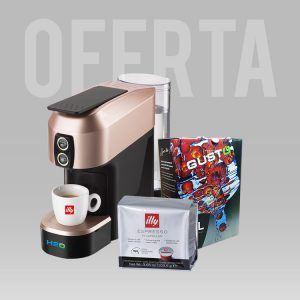 Oferta Espressor M1 + o cutie de cafea la alegere + suc natural GustOn 3L